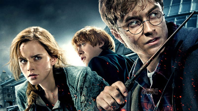 final minutes of last harry potter movie to be split into