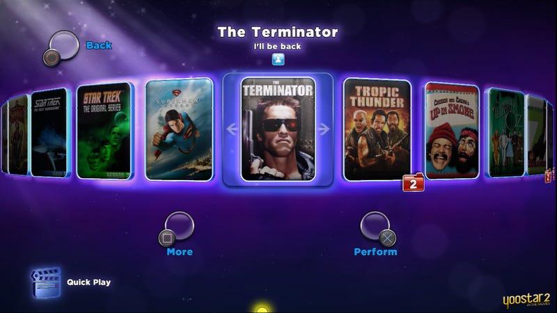 Illustration for article titled Yoostar 2 'Terminator' Performance