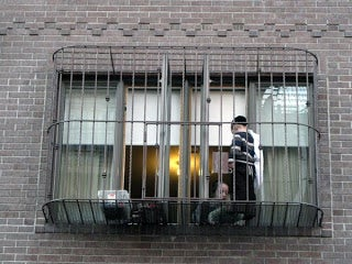 suspended baby cages to ensure that children get enough sunlight and