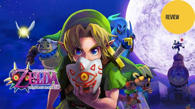 Illustration for article titled The Legend of Zelda: Majora's Mask 3D: The Kotaku Review