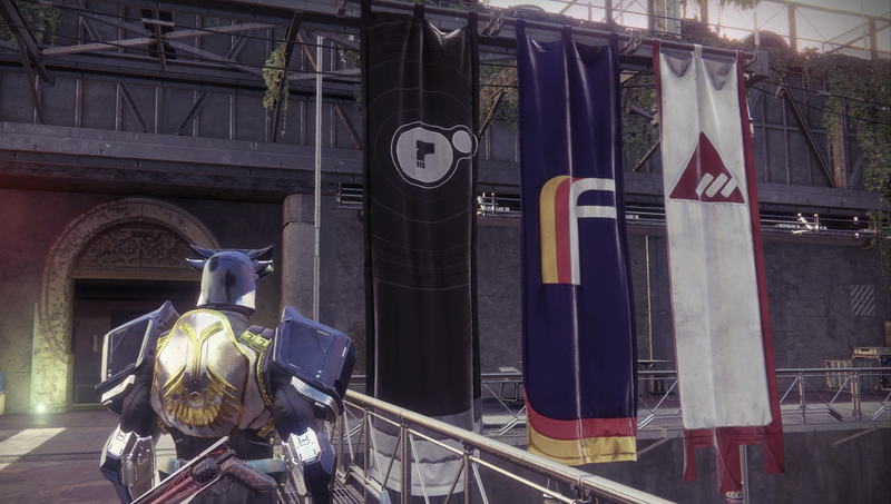 From Left: Dead Orbit, Future War Cult, and New Monarchy