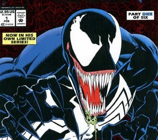 Detail from Venom: Lethal Protector #1, February 1993