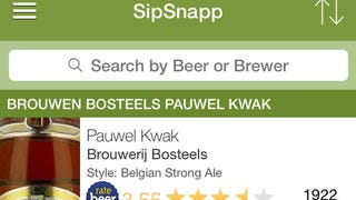 Illustration for article titled SipSnapp Scans a Beer List and Rates It For You