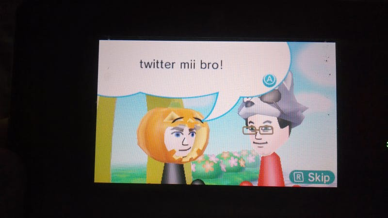 Illustration for article titled What is your 3DS Streetpass greeting?