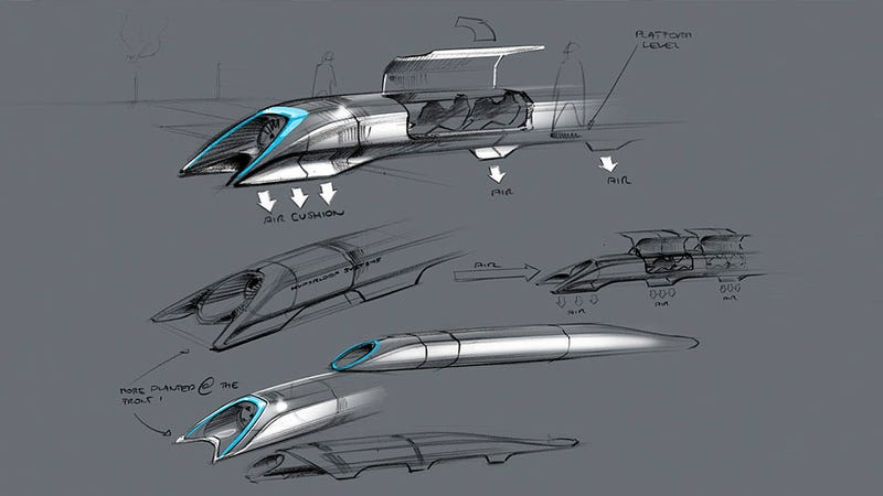 Illustration for article titled Hyperloop: así funciona el medio de transporte del futuro