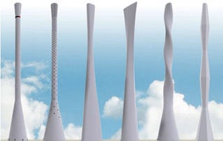 Illustration for article titled Ericsson's Tower Tube Give Cell Towers a Touch of Scandanavian Design