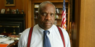 Supreme Court Justice Clarence Thomas (David Hume Kennerly/Getty Images)