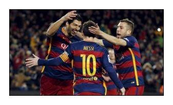 Illustration for article titled Újabb hétvégi Barca csoda! Messi álom 11-ese! Frissítve egy jobb videóval!