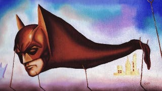Illustration for article titled Batman gets a Surrealist makeover as Salvador Dali's monstrous Sleep