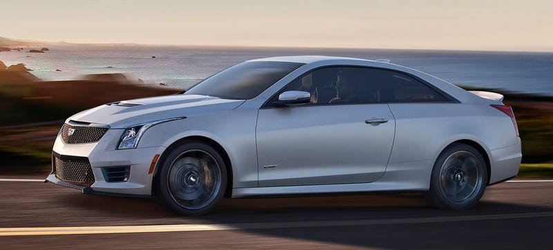 Illustration for article titled Turns Out The Cadillac ATS-V Is More Powerful Than Expected At 464 HP
