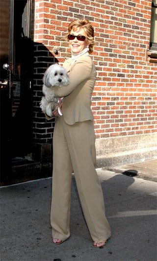 Illustration for article titled Jane Fonda: Pap/Dog