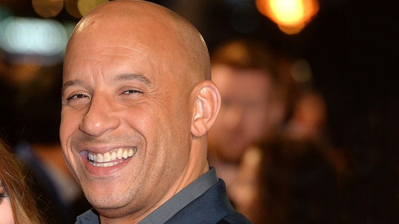 Illustration for article titled Please Do Not Dip Into This Reserve Of Vin Diesel Pictures Unless It Is An Absolute Emergency
