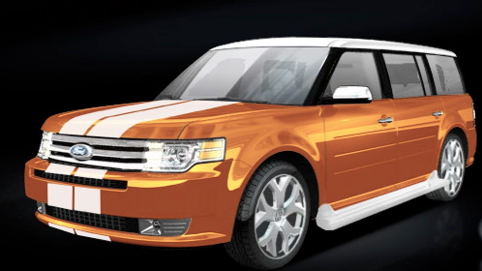 2009 Ford Flex To Be Priced At 28 295 That White Roof Is