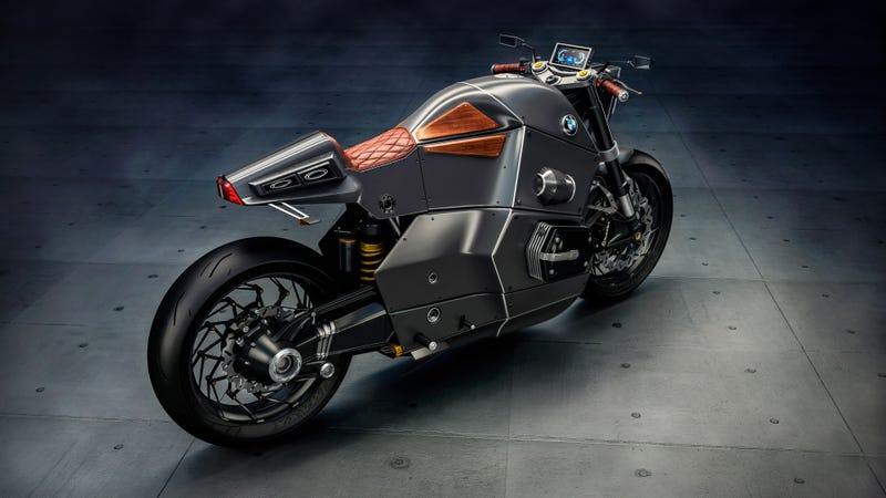 what kind of crazy motorcycle does bmw have in store for its 100th