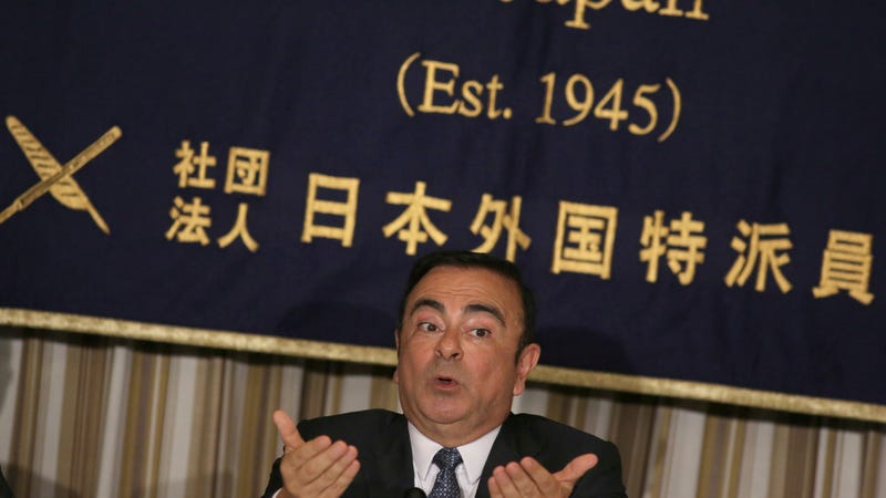 Illustration for article titled Comment of the Day: What Ghosn Around Comes Around Edition