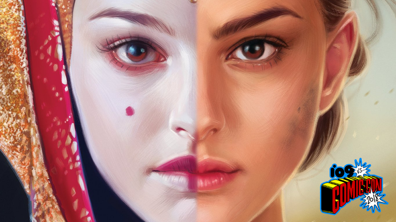 The cover of Queen's Shadow by EK Johnston.