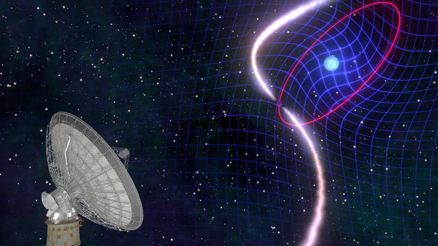 Astrophysicists Observe Star Dragging Space-Time