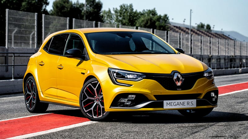 Illustration for article titled The 2019 Renault Megane RS Trophy Could Be Le Civic Type R Killer