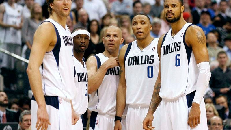 Illustration for article titled Mavericks: Winning Championship For Jason Kidd Not Really A Factor In Wanting NBA Title
