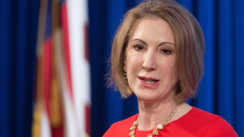 Illustration for article titled Who Is Carly Fiorina?