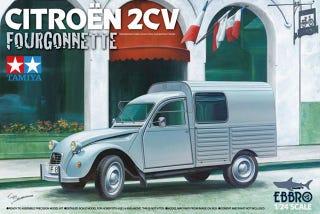 Illustration for article titled Tamiya Citroen 2CV Fourgonnette