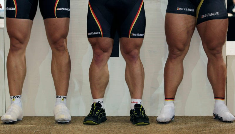 Here Are Some Strong And Gross Cycling Legs