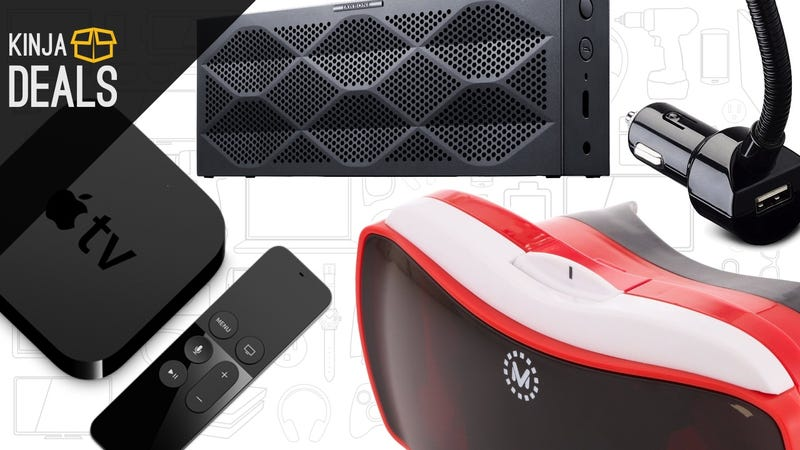 Illustration for article titled Today's Best Deals: Apple TV, Virtual Reality, Mini Jambox, and More