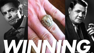 """Illustration for article titled The Messy History Of Charlie Sheen's """"Winning"""" Ring"""