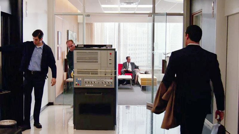 The IBM System 360 in Mad Men