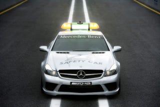 Illustration for article titled Mercedes SL63 F1 Safety Car and C63 Medical Car Revealed