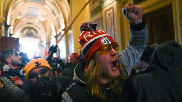 Interactive Timeline of Parler Videos Takes You Through the Capitol Riot
