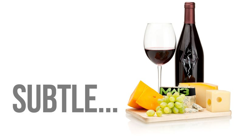 Illustration for article titled Like Rich Wine and Sharp Cheese, Some Games Just Go Well Together
