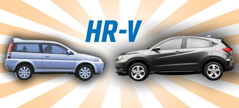 Illustration for article titled The Original Honda HR-V Was Way Cooler Than The One We Just Got