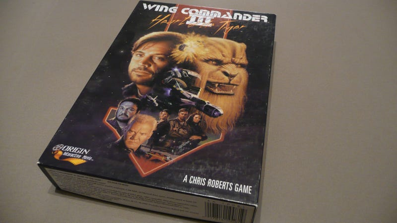 Illustration for article titled Unboxing...Wing Commander III
