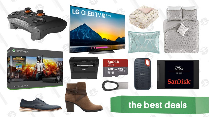 Illustration for article titled Wednesday's Best Deals: Free Meat, OLED TVs, SSDs, and More