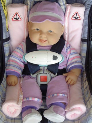 Its Better To Be Safe Than Sorry Baby Alerts Child Minder System Not Included Replaces The Generic Strap On Your Kids Car Seat