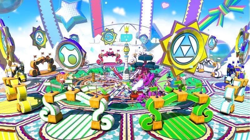 Nintendo already made its own virtual theme park with Nintendo Land