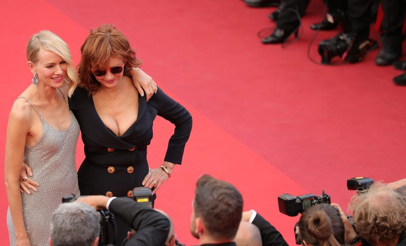 Illustration for article titled Poofy Gowns, French People, and a Shitload of Diamonds on the Cannes Red Carpet