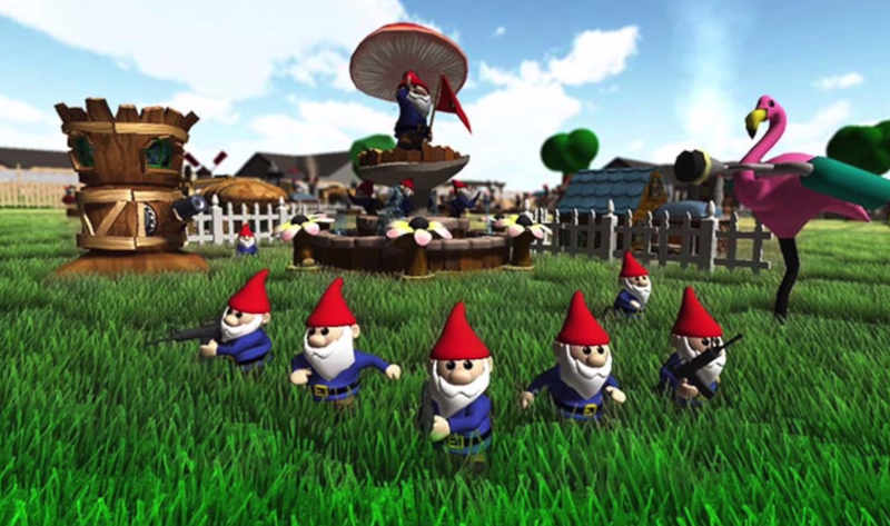 Illustration for article titled Canceled PS4 Game Would Have Let You Play Team Deathmatch As Gnomes