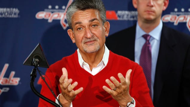 Wizards And Caps Owner: I Suck Because D.C. Won't Pay My Bills …