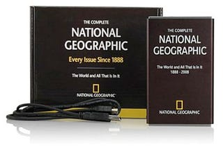 Illustration for article titled Get Every Issue of the National Geographic Magazine on a HDD For $200