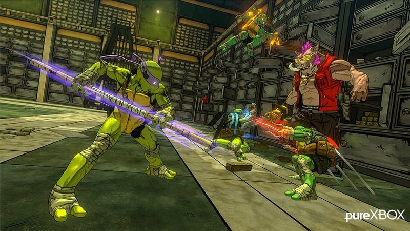 Illustration for article titled TMNT: Mutants In Manhattan Screens Leak, Because Of Course They Do