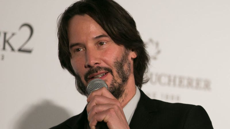 Illustration for article titled Keanu Reeves isn't sure Bill & Ted 3 will happen