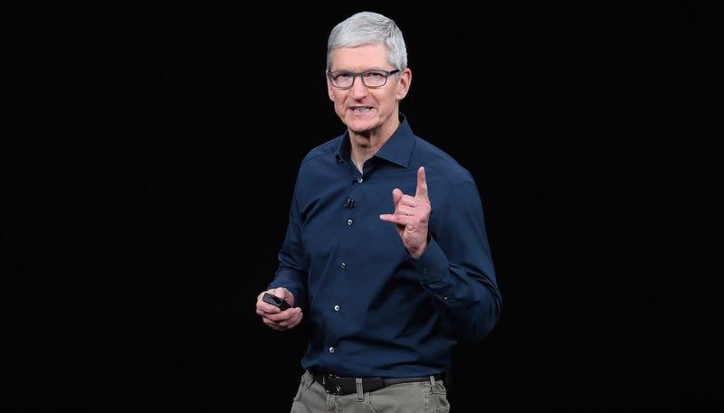 Apple CEO Tim Cook in September 2018