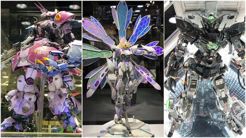 Illustration for article titled Japan's Best Gundam Models Of 2018
