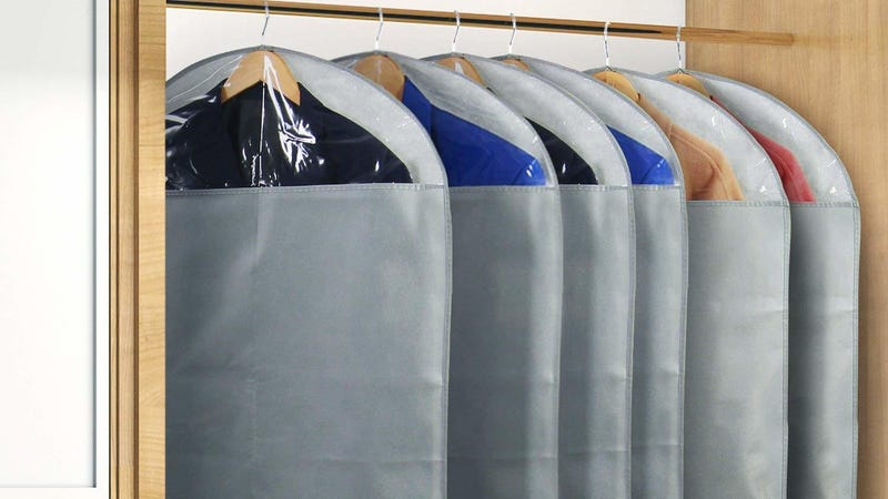Lifewit Hanging Garment Bag Durable Clothes Garment Bags | $14 | Amazon