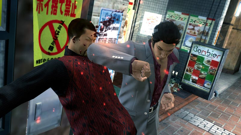 Illustration for article titled Ryu Ga Gotoku 3 Screens Will Elbow Your Face In