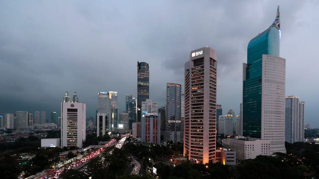Indonesia Is Moving Its Capital City as the Current One Sinks Into the Sea