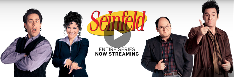 Illustration for article titled Every Episode of Seinfeld Is Now On Hulu