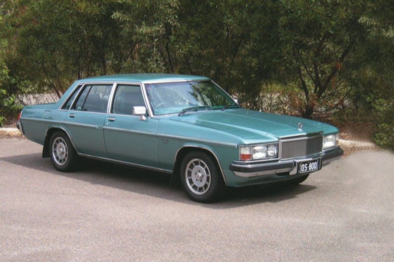WB Holden Caprice series 2